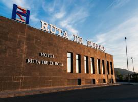 Hotel Ruta de Europa, отель в городе Витория-Гастейс