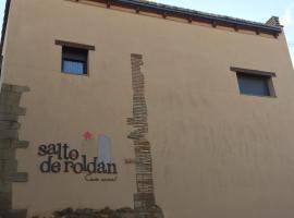 Casa Salto de Roldán, casa rural en Apiés