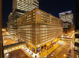 Residence Inn Minneapolis Downtown/City Center, отель в Миннеаполисе