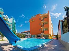 Diamond Hotel, хотел близо до Аквапарк Приморско, Приморско