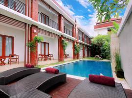 Kubu Bali Suites Seminyak, resort village in Kerobokan