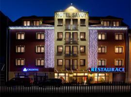 Hotel Savoy, hotel in České Budějovice