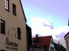 Hotel & Restaurant Klosterhof, Hotel in der Nähe von: Sächsische Porzellan-Manufaktur Freital, Dresden