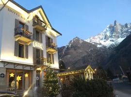 Eden Hotel, Apartments and Chalet, hotell i Chamonix-Mont-Blanc