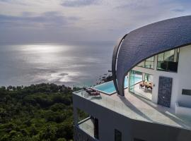 Sky Dream Villa Award Winning Sea View Villa, hotel i Chaweng Noi Beach