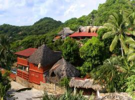 Villa Escondida, hotel en Zipolite