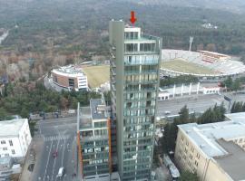 Full Comfort Apartment at Chavchavadze, hotel near Vake Park, Tbilisi City