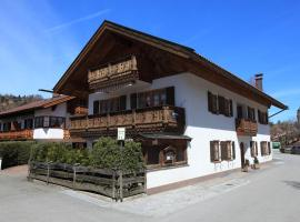Ferienhäuser Werdenfels, family hotel in Mittenwald