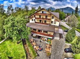 Penzión Slalom, privát v Tatranskej Lomnici