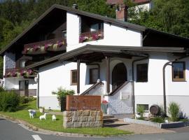 Hotel Restaurant Brigitte, hotel near Fleckllift, Warmensteinach