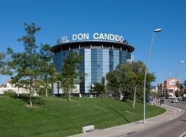 Don Cándido 4* Sup, hotel cerca de Campo de Golf Port del Compte, Terrassa