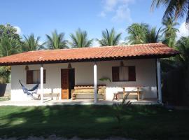 Chalés Caminho do Mar, holiday home in São Miguel dos Milagres