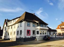 Hotel Heckenrose, hotel in Ringsheim