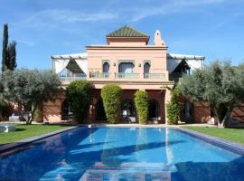 Villa Palmeraie, villa in Marrakesh