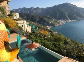 Villa San Cosma, hotel with jacuzzis in Ravello