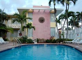 Alcazar Resort- Gay Mens Resort、フォート・ローダーデールのホテル