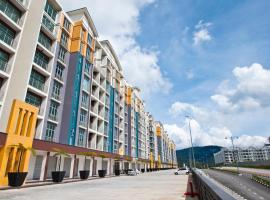 DreamScape Apartment @ Golden Hill, apartment in Cameron Highlands