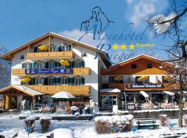 Alpenhotel Rieger, hotel in Mittenwald