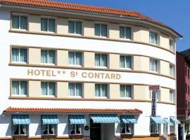 Hôtel Saint Contard, hotel near Notre Dame de Lourdes Sanctuary, Lourdes
