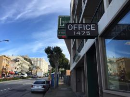 Lombard Inn, hotel near Golden Gate Bridge, San Francisco