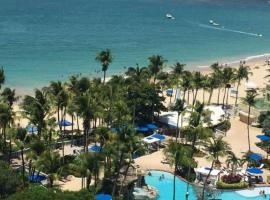 Beach Front at Coral Beach Condos, resort in San Juan