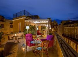 Hotel Monte Cenci, hotel en Centro de Roma, Roma