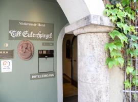 Hotel Till Eulenspiegel - Nichtrauchhotel -, отель в Вюрцбурге