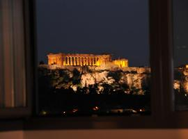 Acropolis at Home: Loft with a View, hotel near Omonia Square, Athens