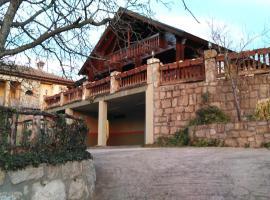 Mirador de Lamaliciosa, casa de campo en Manzanares el Real