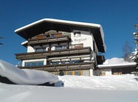 Gästehaus Bergland, Pension in Berwang