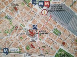 Around The Corner Colosseo B&B, hotel perto de Santa Maria Maggiore, Roma