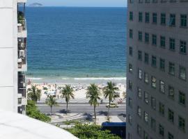 SEA VIEW Flat Copacabana ilive061, luxury hotel in Rio de Janeiro