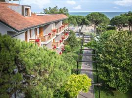 Hotel Capanna d'Oro, hotel v Lignanu Sabbiadoru