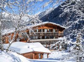 Hôtel Le Jeu de Paume, hotell i Chamonix-Mont-Blanc
