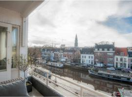 Schitterend Appartement in Binnenstad, hotel near New Market Groningen, Groningen