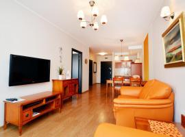 City Art Apartamenty w Rezydencji Maritimo – hotel w pobliżu miejsca Molo w Kołobrzegu w Kołobrzegu