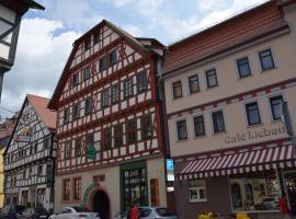 Grünes Tor, Hotel in der Nähe von: Schloss Elisabethenburg, Schmalkalden
