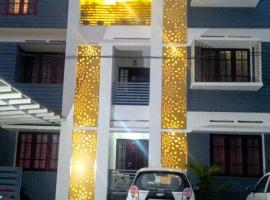 Beersheba Three Bed Room A/C apartments, apartment in Trivandrum