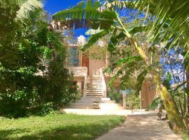 Hotel Casa Maya Calakmul, hotel in Chicanna