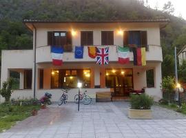 Hotel Ristorante Pizzeria Umbria, hotel in Vallo di Nera