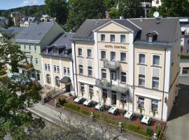 Hotel Central, hotel in Bad Elster
