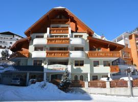 Hotel Garni Alpenhof, hotel in Ischgl