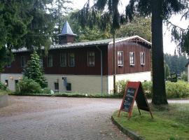 Waldhotel Zöbischhaus, Hotel in der Nähe von: Deutsche Raumfahrtausstellung, Bad Reiboldsgrün