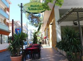 Hotel Amados, hotel a Rimini, Rivazzurra