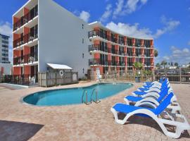 Cove Motel Oceanfront, motel in Daytona Beach