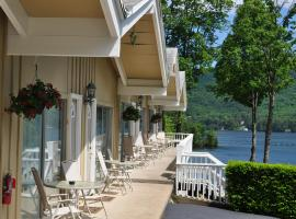 Tea Island Resort, beach hotel in Lake George