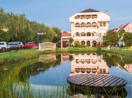Das-Schmidt Privathotel, hotel Fertőmeggyesen