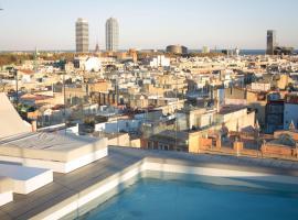 Yurbban Trafalgar Hotel, hôtel à Barcelone près de: Métro Passeig de Gràcia