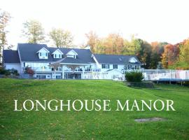 Longhouse Manor B&B, family hotel in Watkins Glen