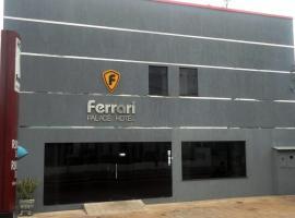 Ferrari Palace Hotel, hotel in Boa Vista